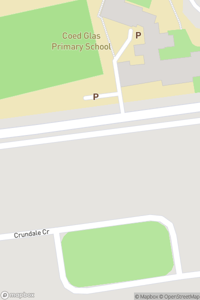 A map indicating the location of Go Air Trampoline Park