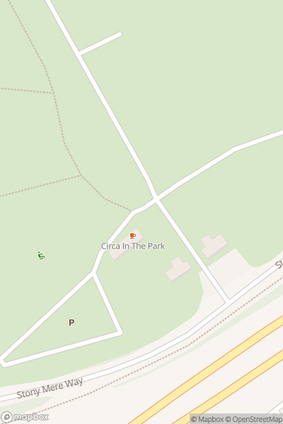 A map indicating the location of Stanmer Park