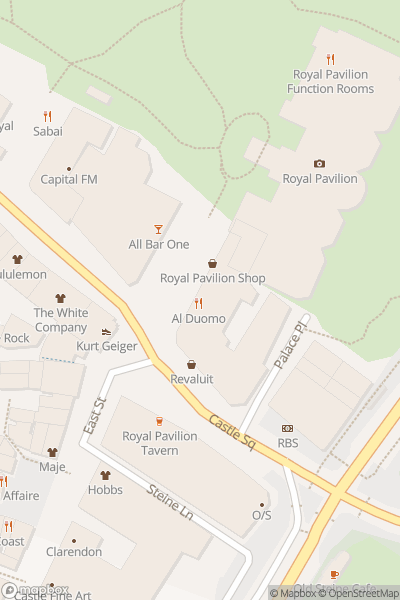 A map indicating the location of  Free Walking Tours Brighton - Real Brighton Tours