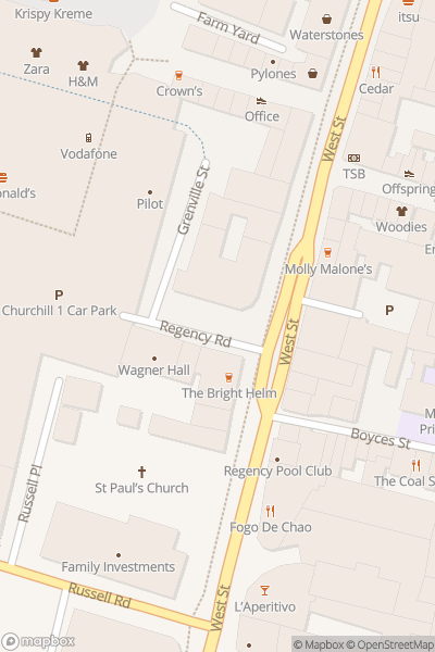 A map indicating the location of Brighton Makers Fair