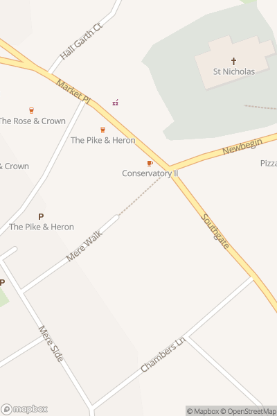 A map indicating the location of Hornsea