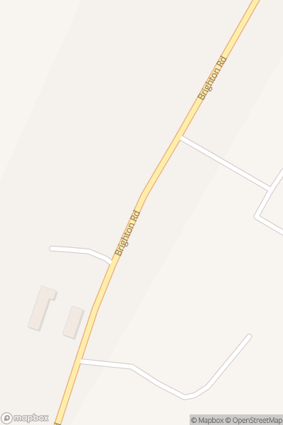 A map indicating the location of Washbrooks Farm