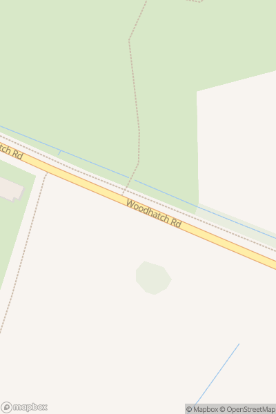 A map indicating the location of Earlswood Common