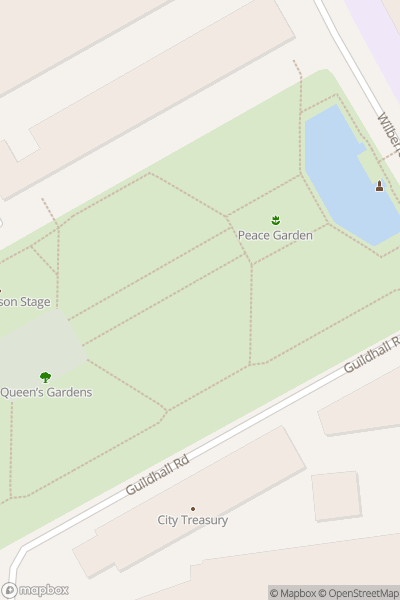 A map indicating the location of Inner City Sesh
