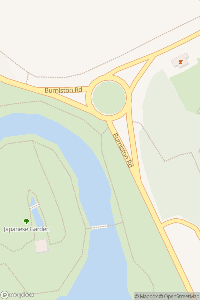 A map indicating the location of Scarborough