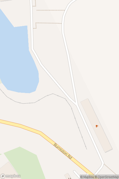 A map indicating the location of Scarborough Open Air Theatre