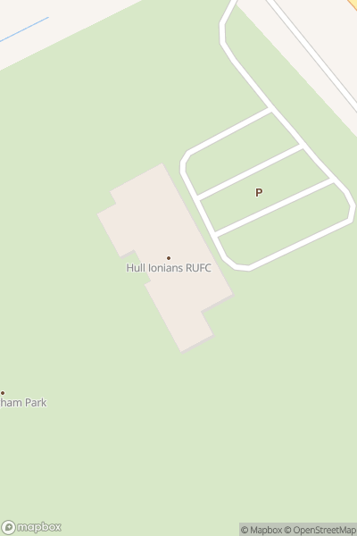 A map indicating the location of East Yorkshire Show & Family Fun Day