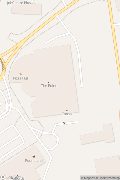 A map indicating the location of ODEON Bracknell