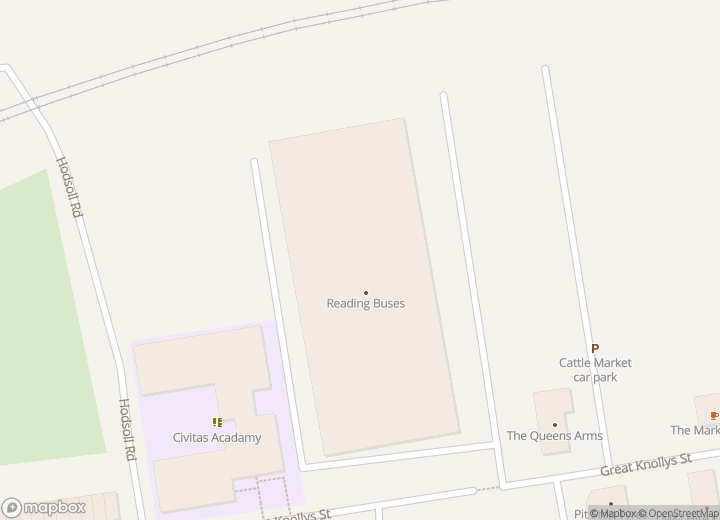 A map indicating the location of Head Office (For lost property only)