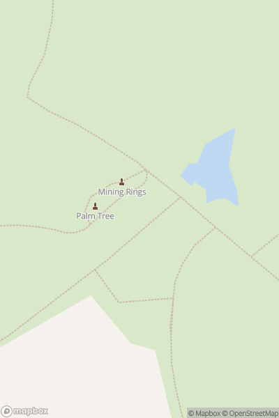 A map indicating the location of Gedling Country Park