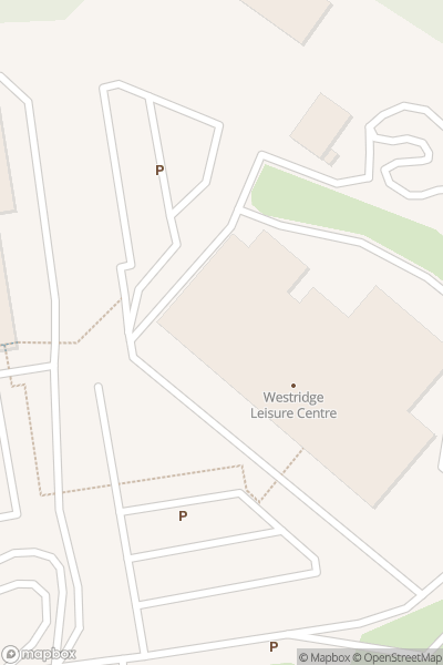 A map indicating the location of Westridge Leisure Centre - Covid19 Vaccination Centre, Ryde