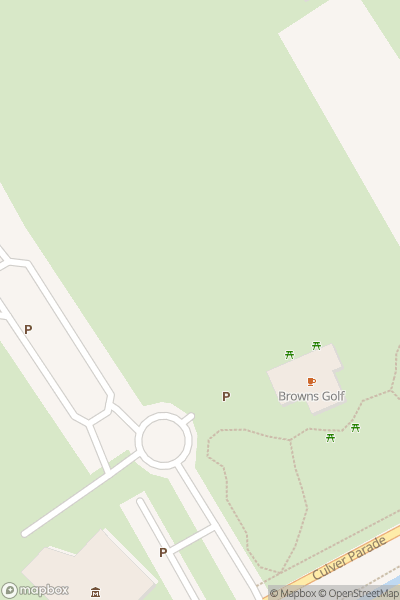 A map indicating the location of Dinosaur Isle