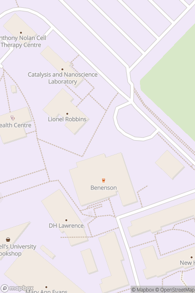 A map indicating the location of NTU Clifton Campus