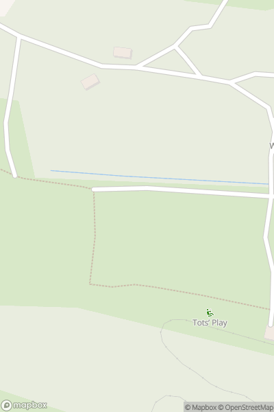 A map indicating the location of Robin Hill Adventure Park