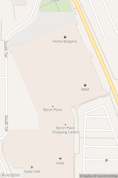 A map indicating the location of Seaham