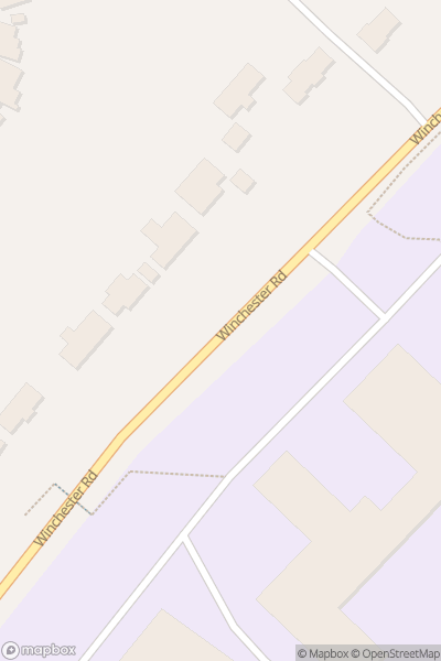 A map indicating the location of Thornden School
