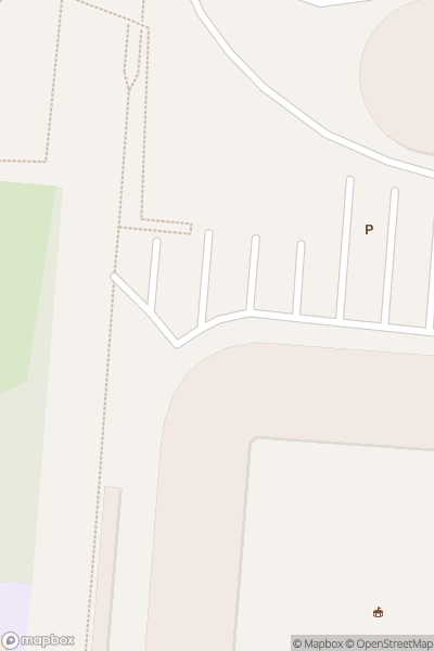 A map indicating the location of Southampton FC at Saint Mary's Stadium
