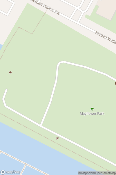 A map indicating the location of Southampton International Boat Show