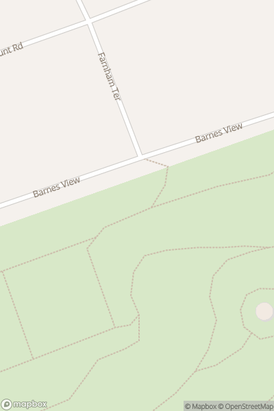 A map indicating the location of Barnes Park in Sunderland