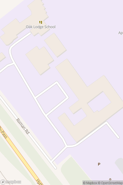 A map indicating the location of Applemore College
