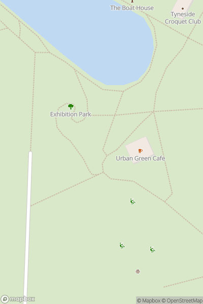 A map indicating the location of This Is Tomorrow Festival