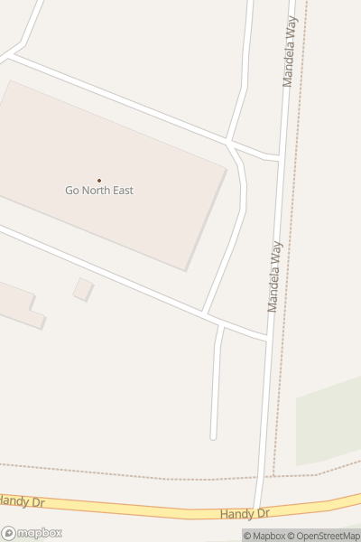 A map indicating the location of Gateshead Riverside depot open day