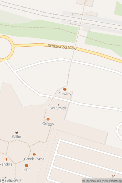 A map indicating the location of intu Metrocentre