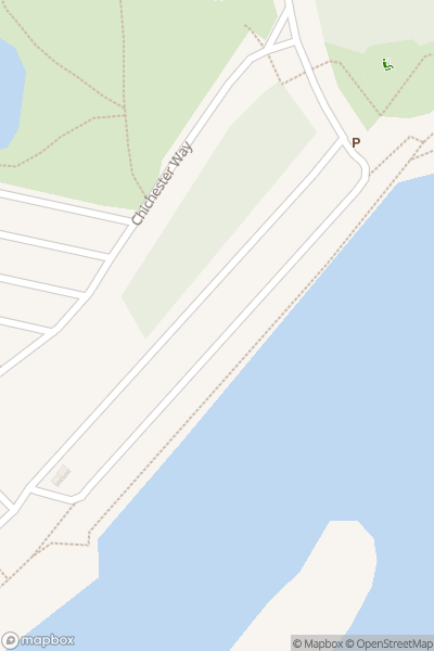 A map indicating the location of Mudeford Arts Festival