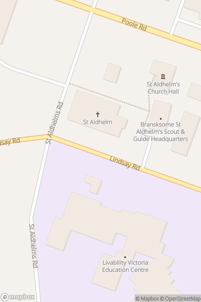 A map indicating the location of Beer and Bluegrass Festival