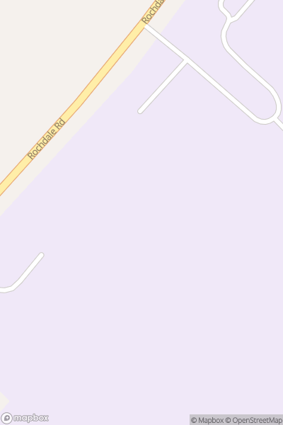 A map indicating the location of Cardinal Langley RC High School