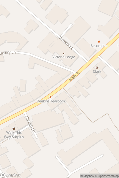 A map indicating the location of Coldstream Civic Week