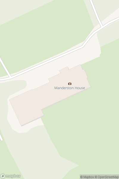 A map indicating the location of Manderston House