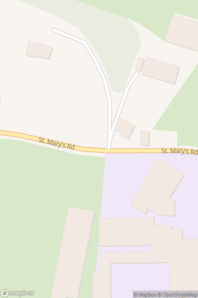 A map indicating the location of Harmony Garden - Melrose