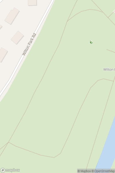 A map indicating the location of Hawick Museum