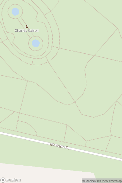 A map indicating the location of Blackpool High Ropes