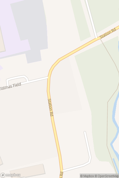 A map indicating the location of Hedingham School