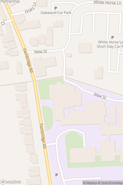 A map indicating the location of Plume School