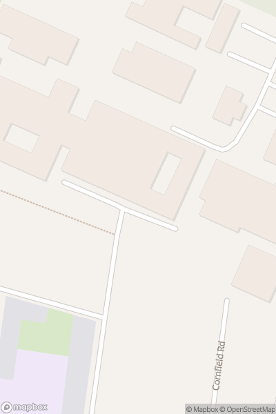 A map indicating the location of King Edward VI School