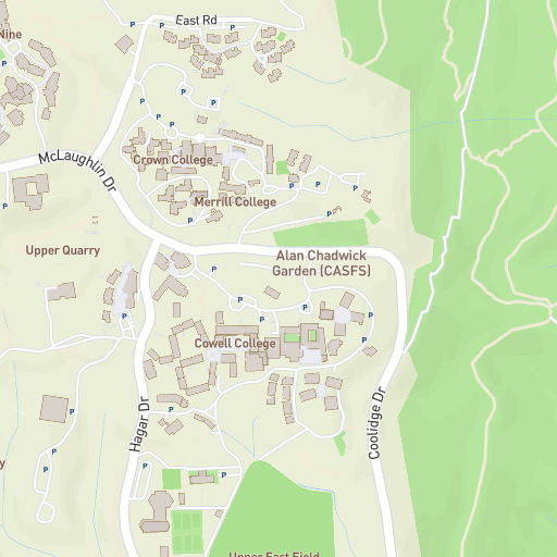 Crown College Ucsc Campus Maps