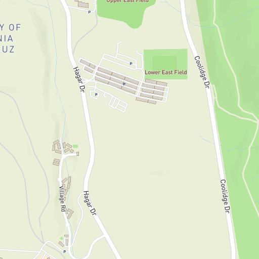 UC Santa Cruz UCSC Campus Maps - Google maps kresgie college us santa cruz