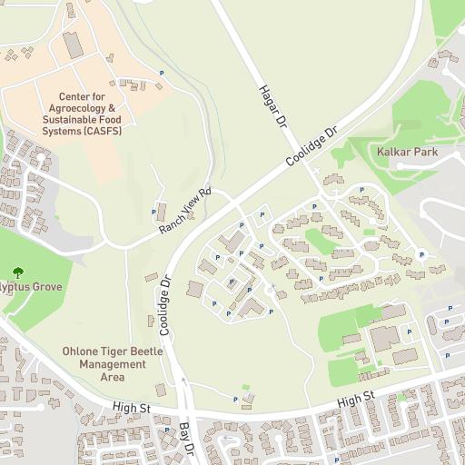 H Barn Ucsc Campus Maps