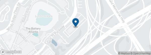 Battery Atlanta Map.Suntrust Park Parking Lots Tickets Atlanta Stubhub