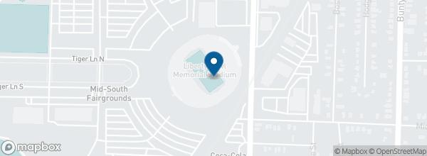 Liberty Bowl Memorial Stadium 335 South Hollywood St Memphis 38104