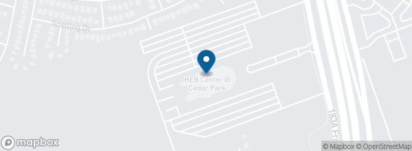 H E B Center At Cedar Park 2100 Avenue Of The Stars 78613