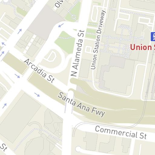 Hilton Hotel Map on