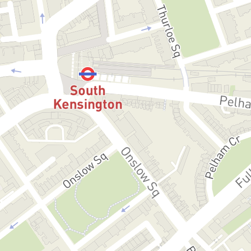 South Kensington London Map.Hotels Near The Pelham London Hotelmap