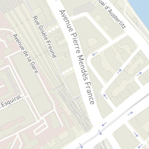 Hotels Near Avenue Pierre Mendes France Paris Hotelmap