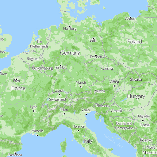 Map Of France With Key.Campsites Camping Key Europe