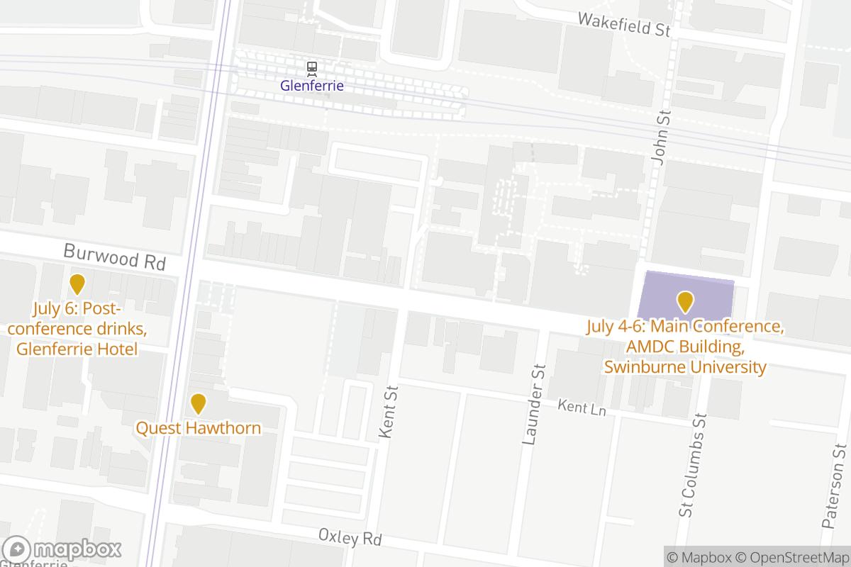 Swinburne University Map
