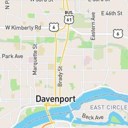 Davenport Iowa Bicycle Plan